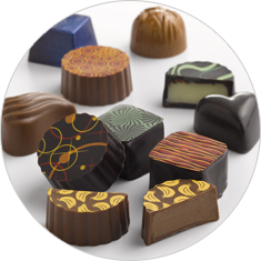 A Variety of Chocolate Truffles