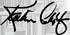 kathleen calef signature